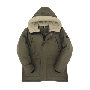 Men's Winter Washed Polyester Sherpa