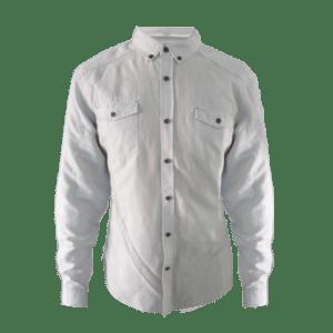 Men's Long Sleeve Linen/Rayon Blended Shirt