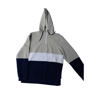 Men's Fleece  Neck  Zip Hoodie