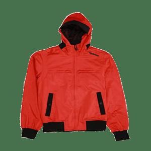 Men's Hoodie Nylon Ribbed Jacket