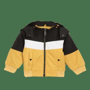 Boy's Knit Lined Hoodie Jacket