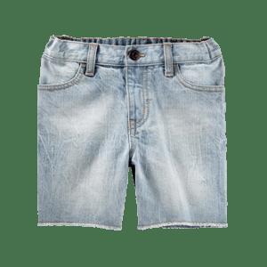 Boy's Elasticated Denim Shorts