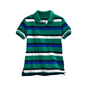 Boy's Color yarn dye Piqué Polo
