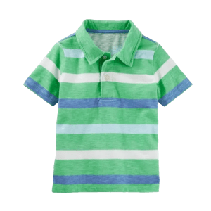 Boy's Color Blocked Piqué Polo