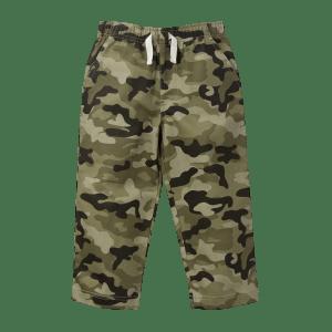 Boy's camo print  trouser
