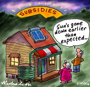 solar subsidies - delivered as promised?