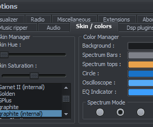 Skin & color manager