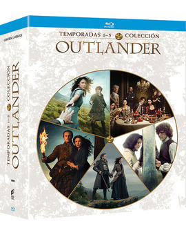 Outlander - Temporadas 1 a 5 Blu-ray