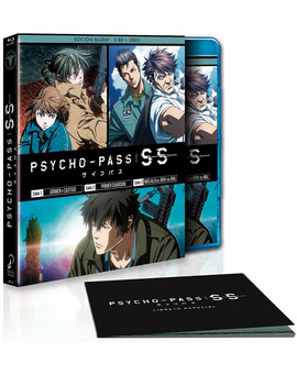 Psycho-Pass: Sinners of the System Blu-ray