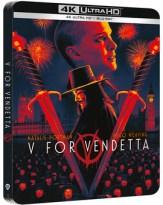 V de Vendetta - Edición Metálica Ultra HD Blu-ray