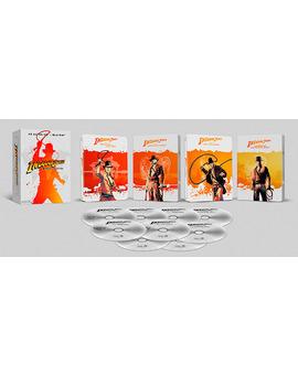Indiana Jones - Las Aventuras Completas (Edición Metálica) Ultra HD Blu-ray