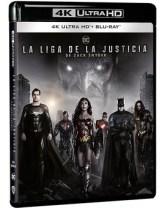 La Liga de la Justicia de Zack Snyder Ultra HD Blu-ray