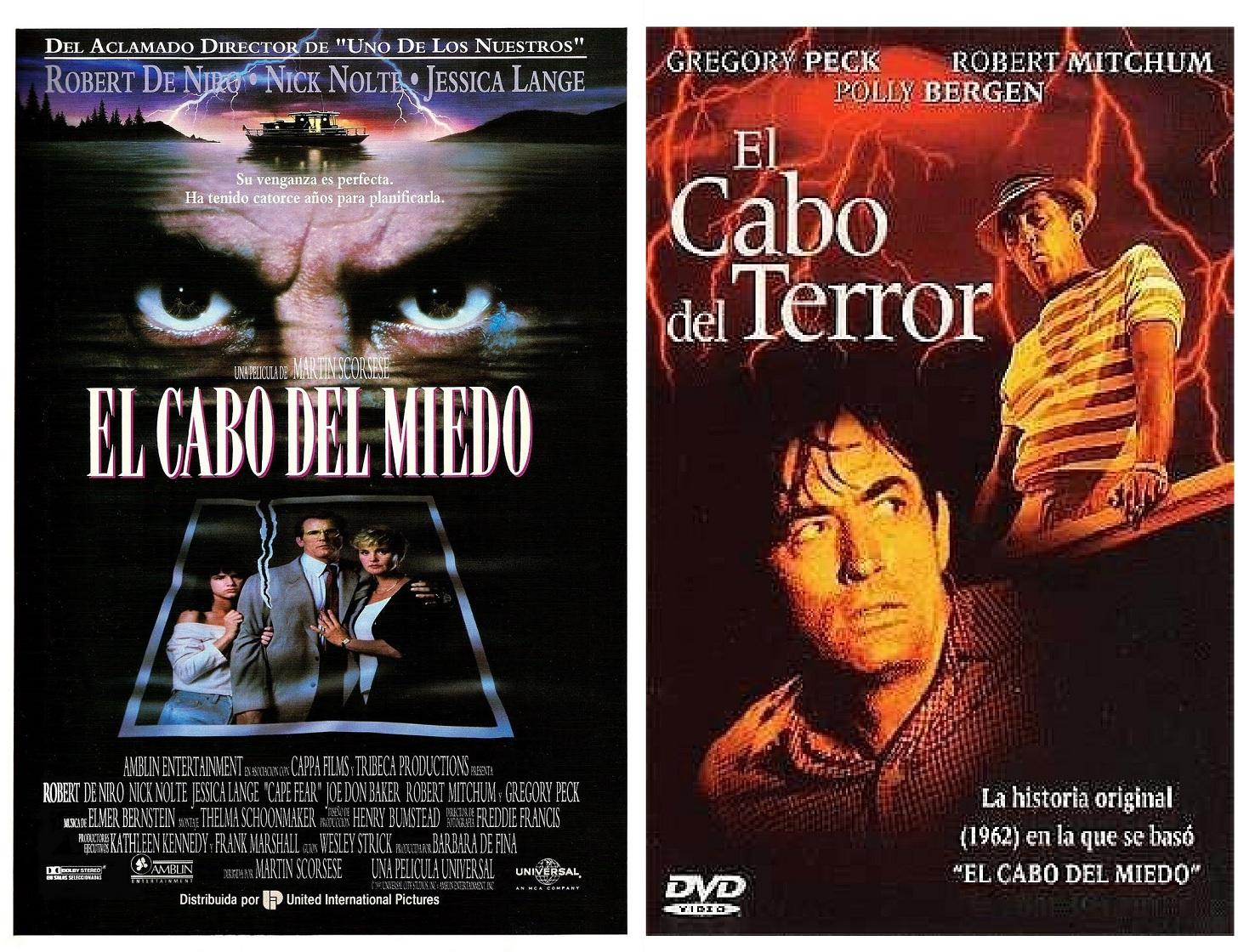 El cabo del terror films based on novels - Robert de niro el cabo del miedo ...