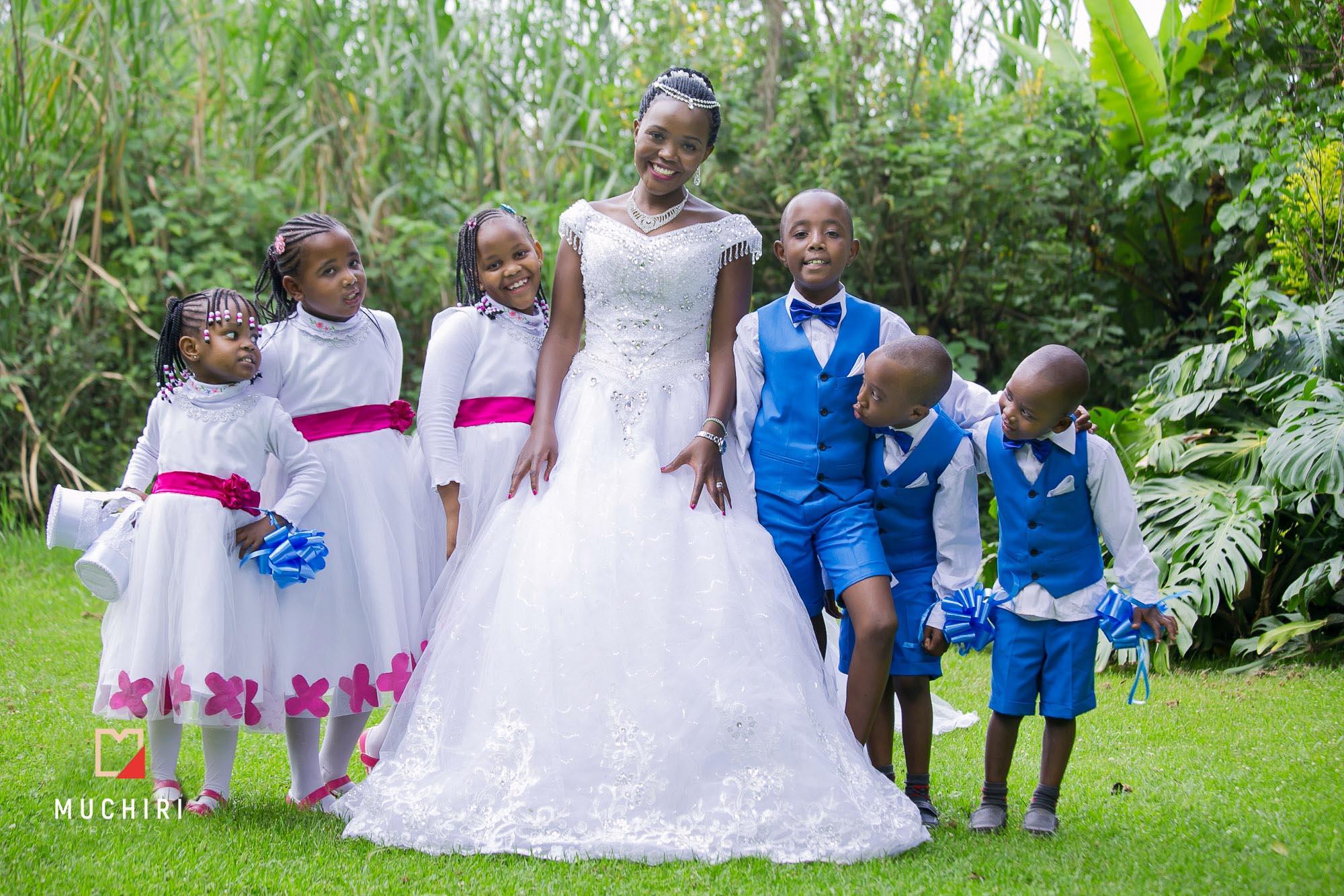 Kenyan Bridal Party Dresses Down To Earth Bali