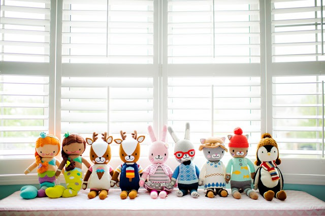 "cuddle + kind's ""Little Collection"": Fighting Childhood Hunger One Doll at a Time"