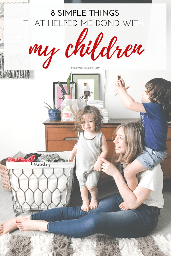 Bonding with baby: 8 simple things that helped me bond with my kids.