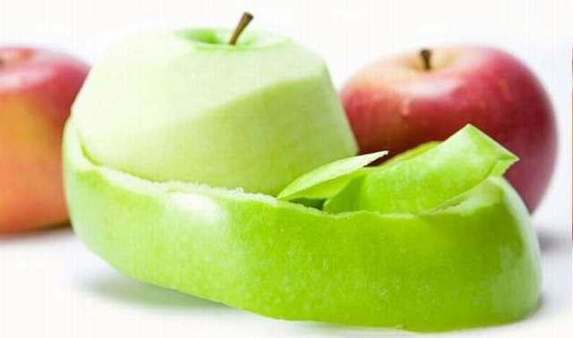 cascara de manzana