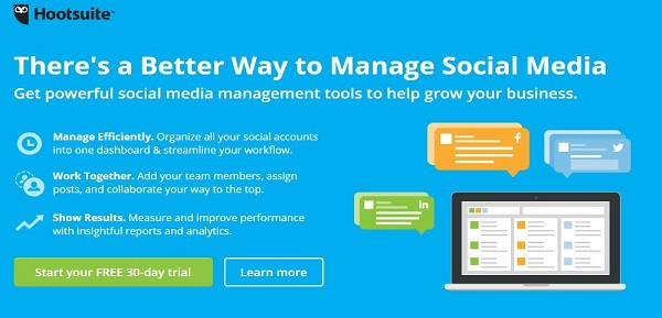 Hootsuite-example-of-social-media-management-tools