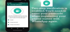 How to Enable or Disable WhatsApp Two-Step Verification Security Feature