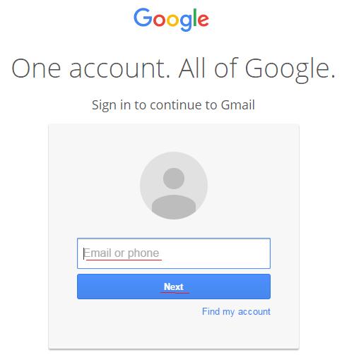 gmail member login
