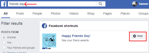 How to create,custom and share Facebook Friends Day videos with your friends-1