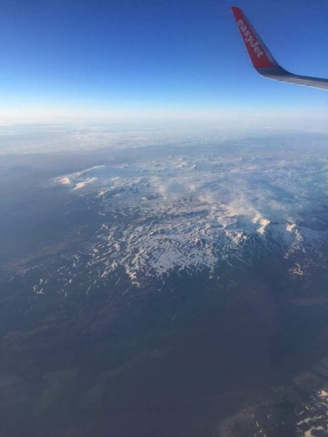 Flying over Iceland, 2016