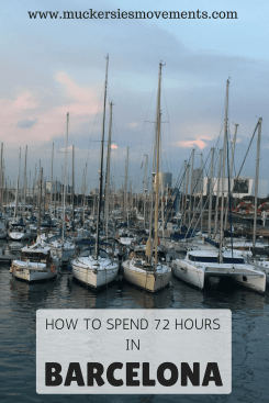 72 Hours In Barcelona