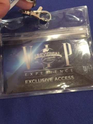 VIP Experience Pass, Universal Orlando