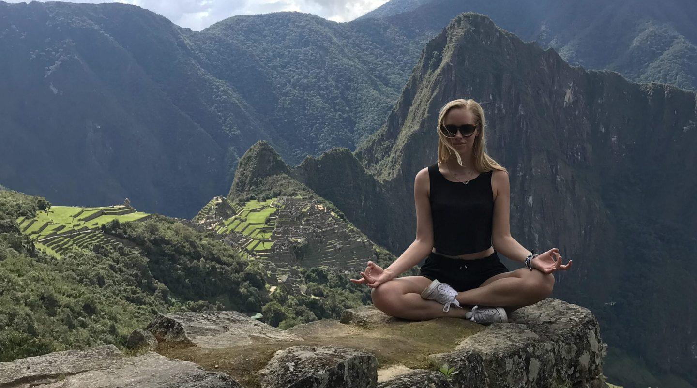 Martina - Machu Picchu, BlondeFootSteps.com