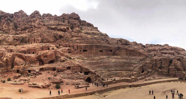 Visiting Petra: Theatre