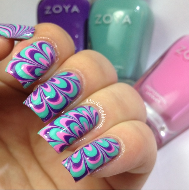 Step 2 P23 Polish Diy How To Make An Easy Water Marble Nail