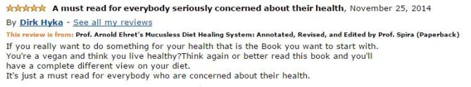 Dirk Hyka Amazon Review
