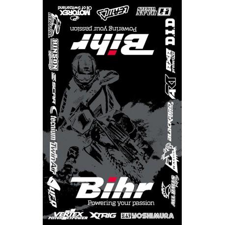 pieces racing moto cross tapis de sol environnemental bihr