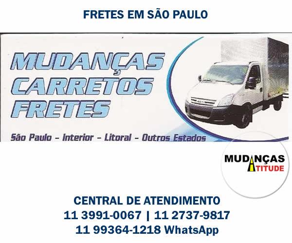 Fretes em São Paulo