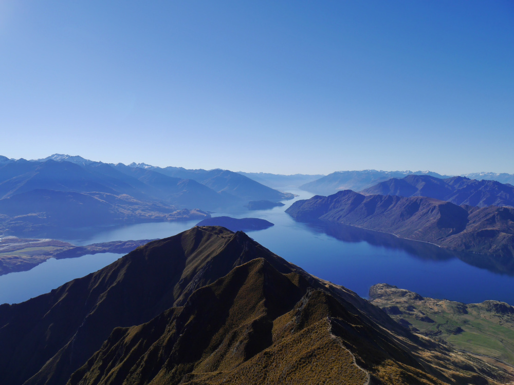 roys peak nova zelandia