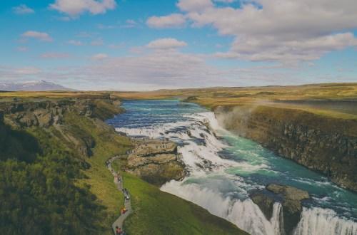 Gullfoss iceland islandia