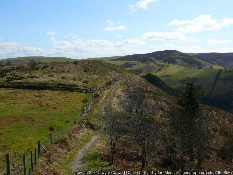 Moel Arthur and Penycloddiau Walk on Offa's Dyke
