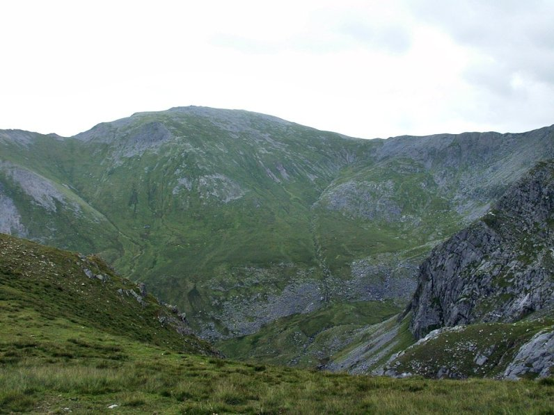 Yr Elen and the Cwm Llafar Horseshoe from Gerlan