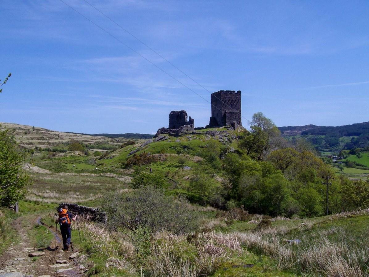 Castell Dolwyddelan Moel Siabod