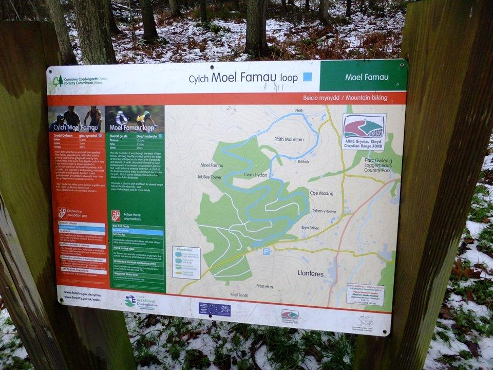 Moel Famau Walk from Moel Famau Car Park