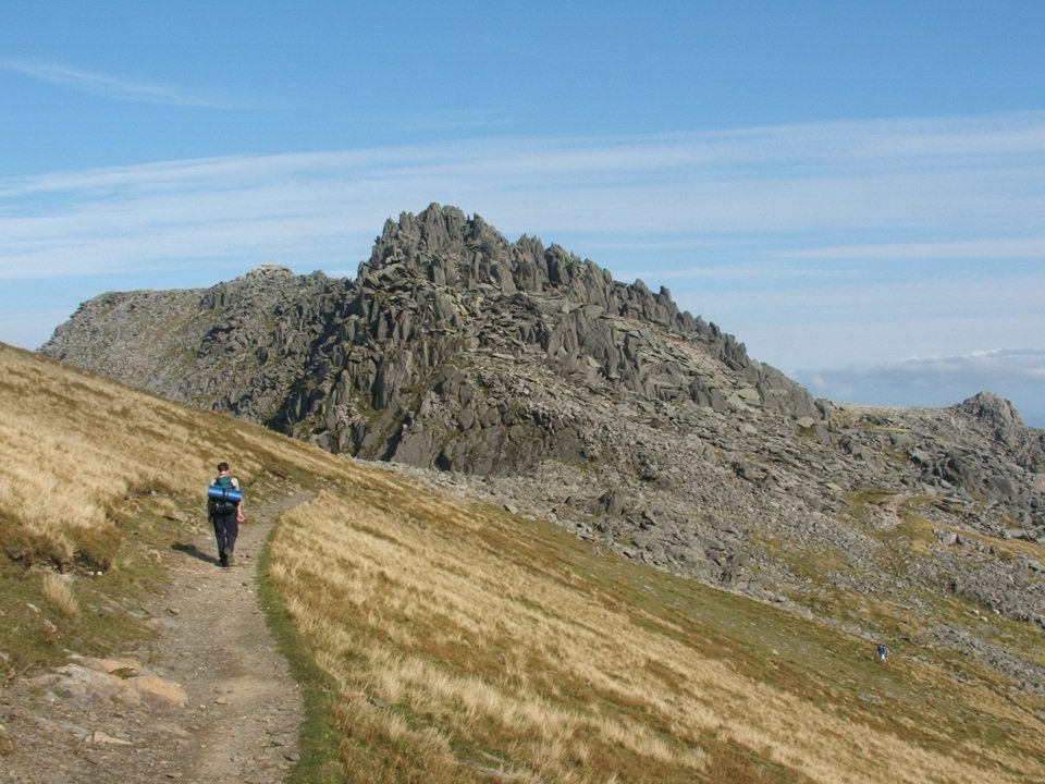 Walk up Glyder Fawr via the Devil's Kitchen