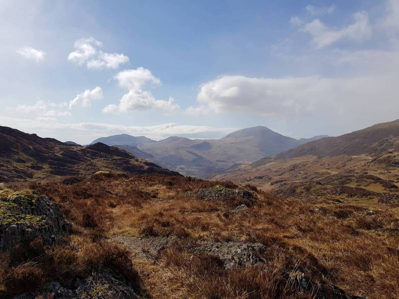 Walk to Cwm Bleiddiaid and Nant Gwynant from Craflwyn Hall