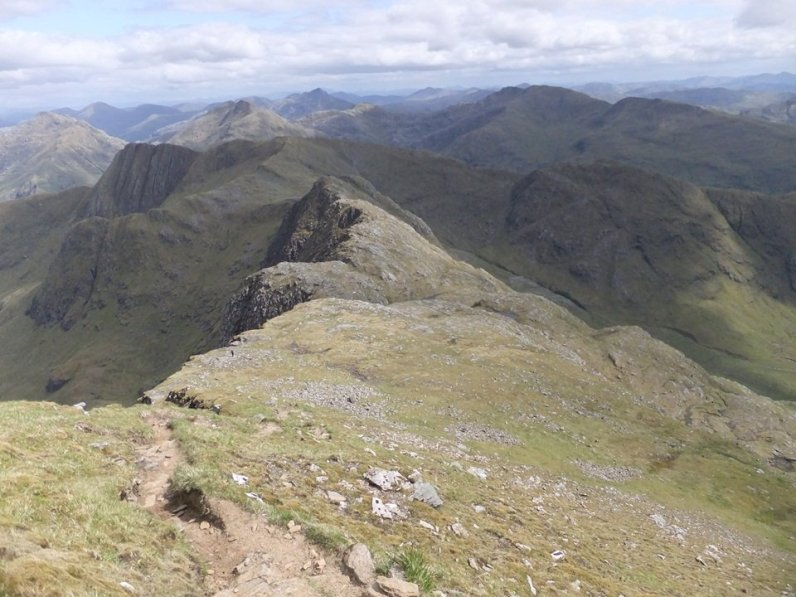 Walk up Ladhar Bheinn from Inverie