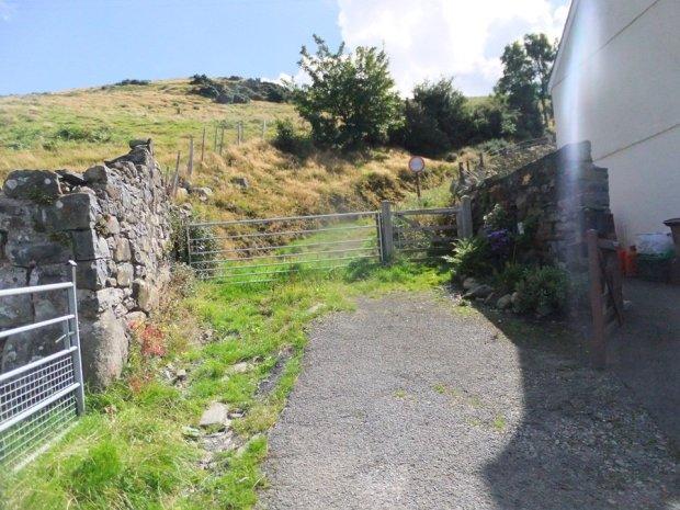Carnedd Llywelyn and Foel Fras from Llanfairfechan