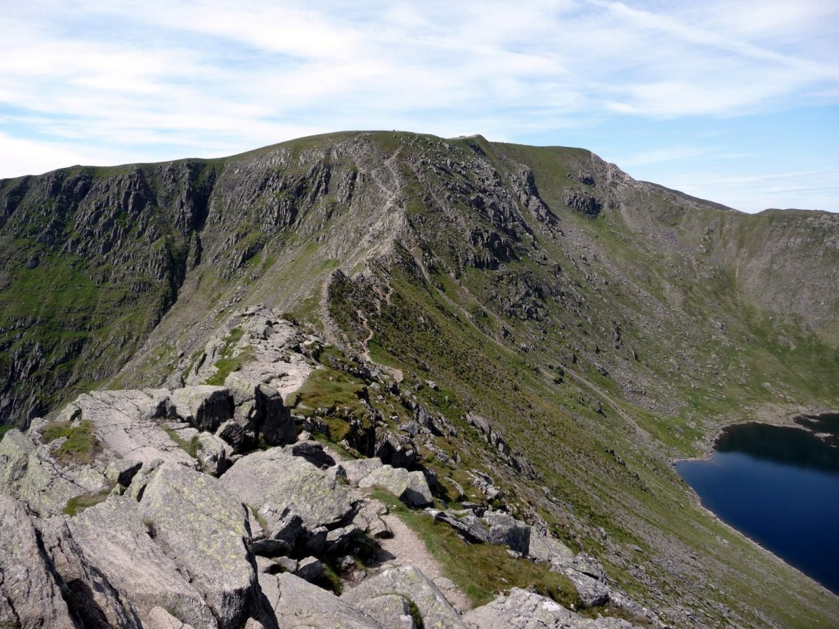 Scramble up Helvellyn via Striding Edge