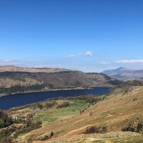 Walk up Helvellyn from Thirlmere - Swirls Car Park