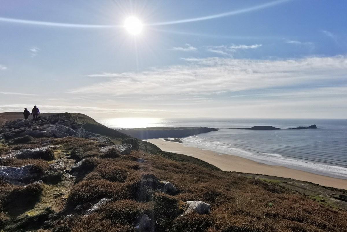 Rhossili Bay and Headland Walk