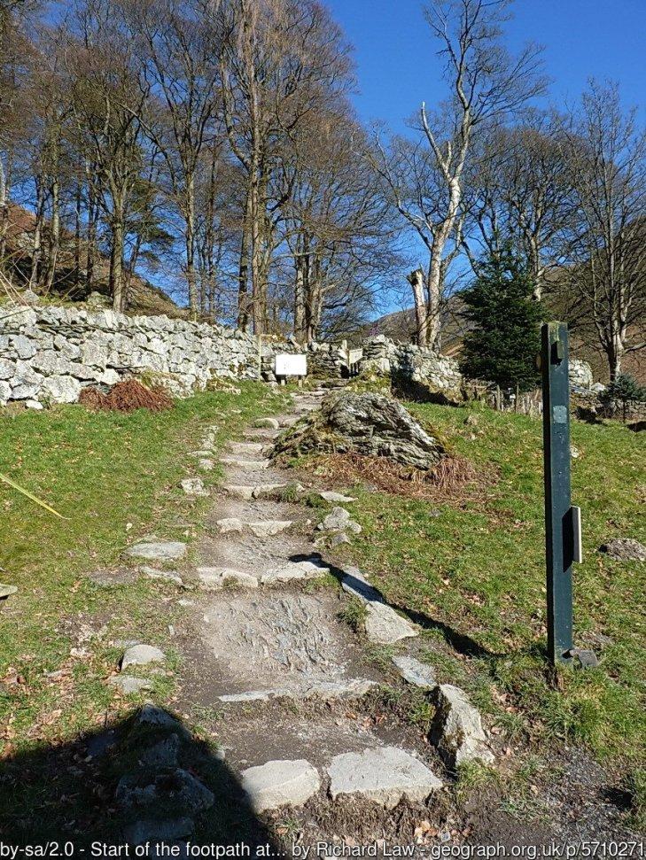 Walk up Cadair Berwyn from Pistyll Rhaeadr