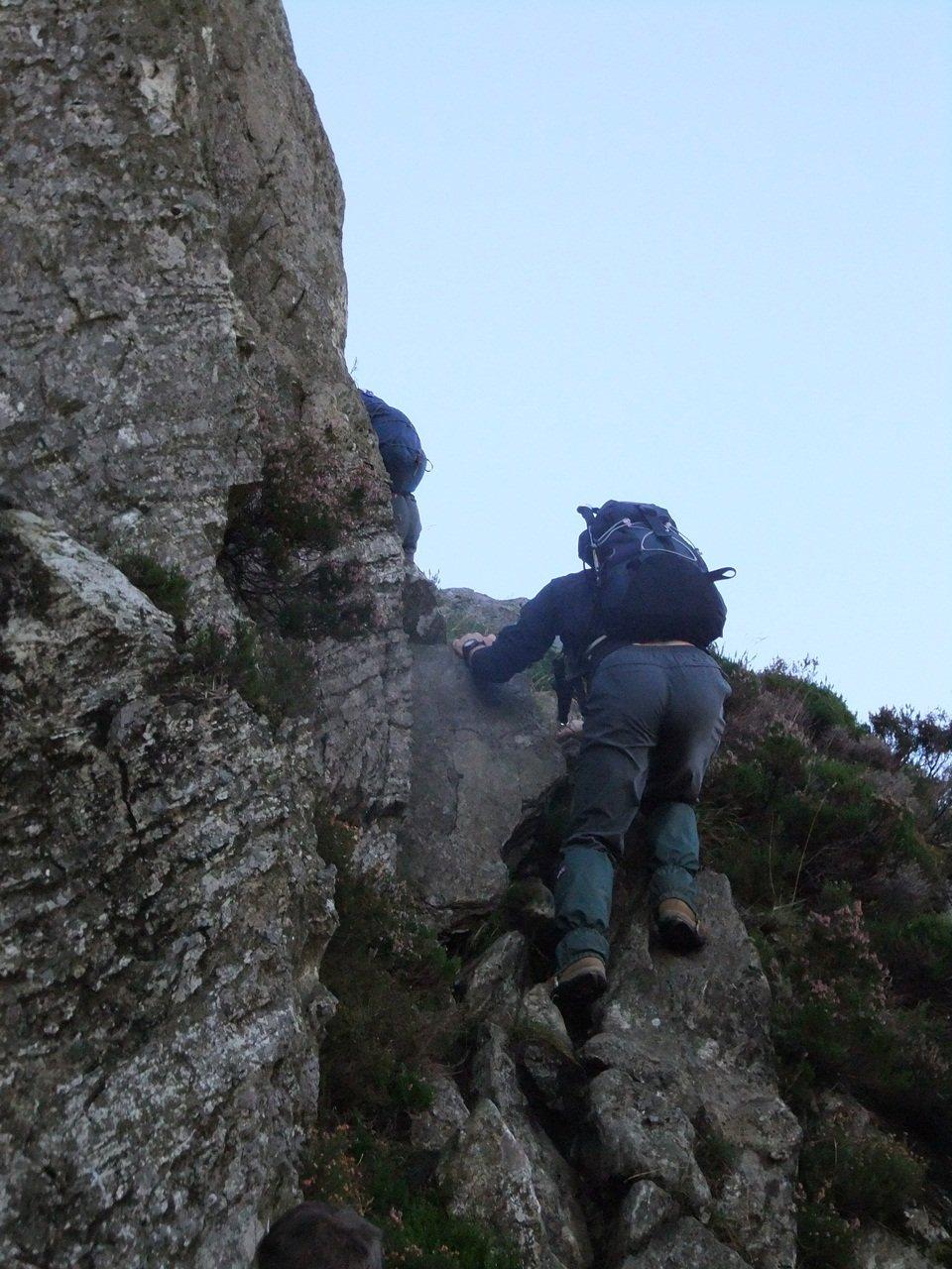 Tryfan North Ridge Scramble