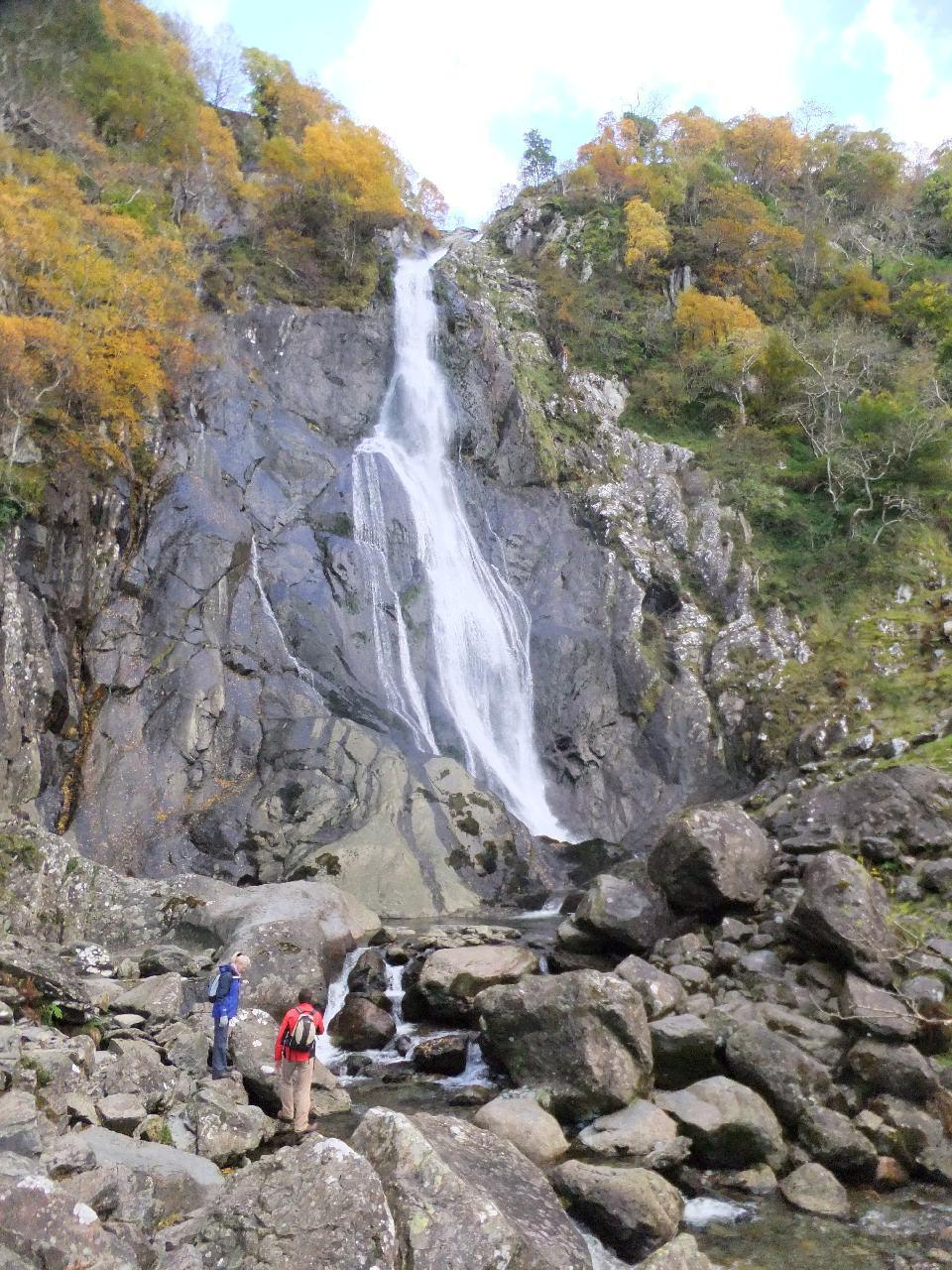 Aber Falls Walk - Easy Family Walks in Snowdonia